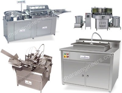 Pharma Machines Manufacturers & Suppliers